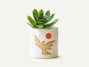 Pre-Order: Bird Planter / Pot