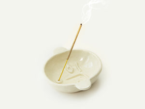 Ceramic Face Dish nº6 / Incense Holder / Ring Dish