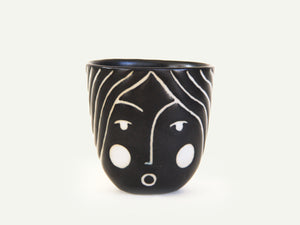 Porcelain Lady Face Cup nº4