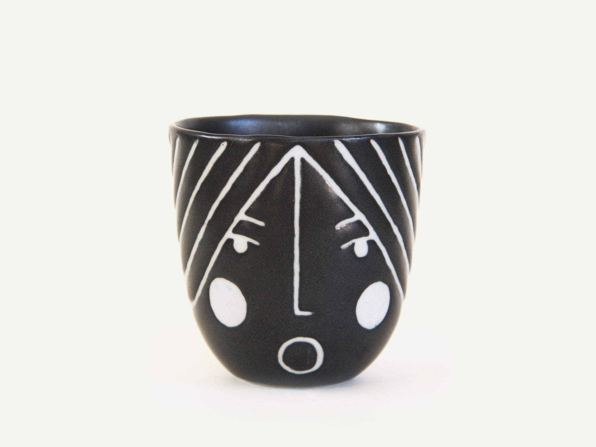Porcelain Lady Face Cup nº5