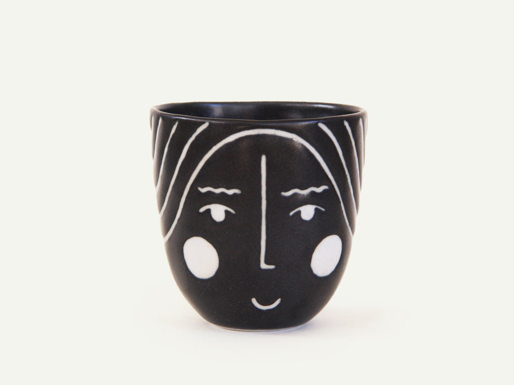 Porcelain Lady Face Cup nº1