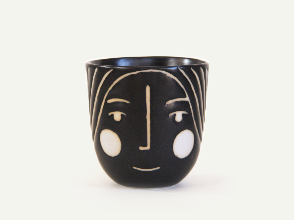 Porcelain Lady Face Cup nº2