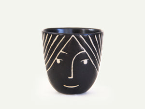 Porcelain Lady Face Cup nº3