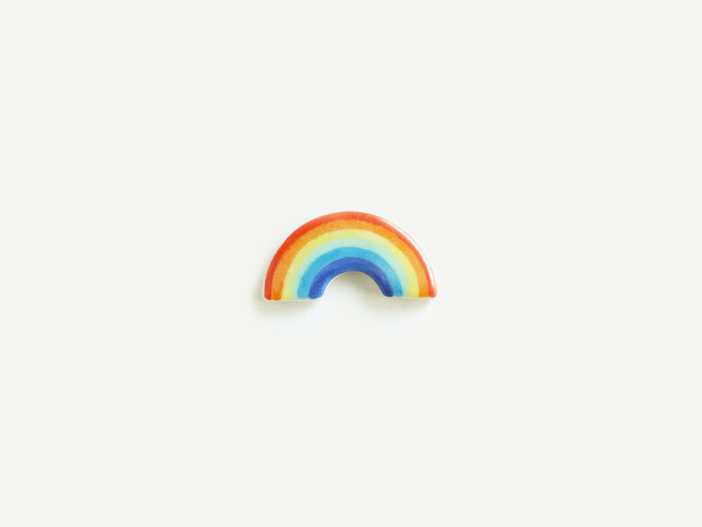 Pre-Order: Porcelain Rainbow Pin