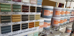 Now carrying Spectrum glazes