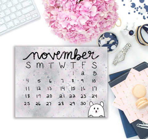 November monthly