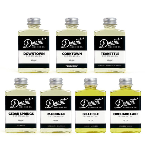 BEARD OIL FULL COLLECTION - 7 CT. 1 OZ