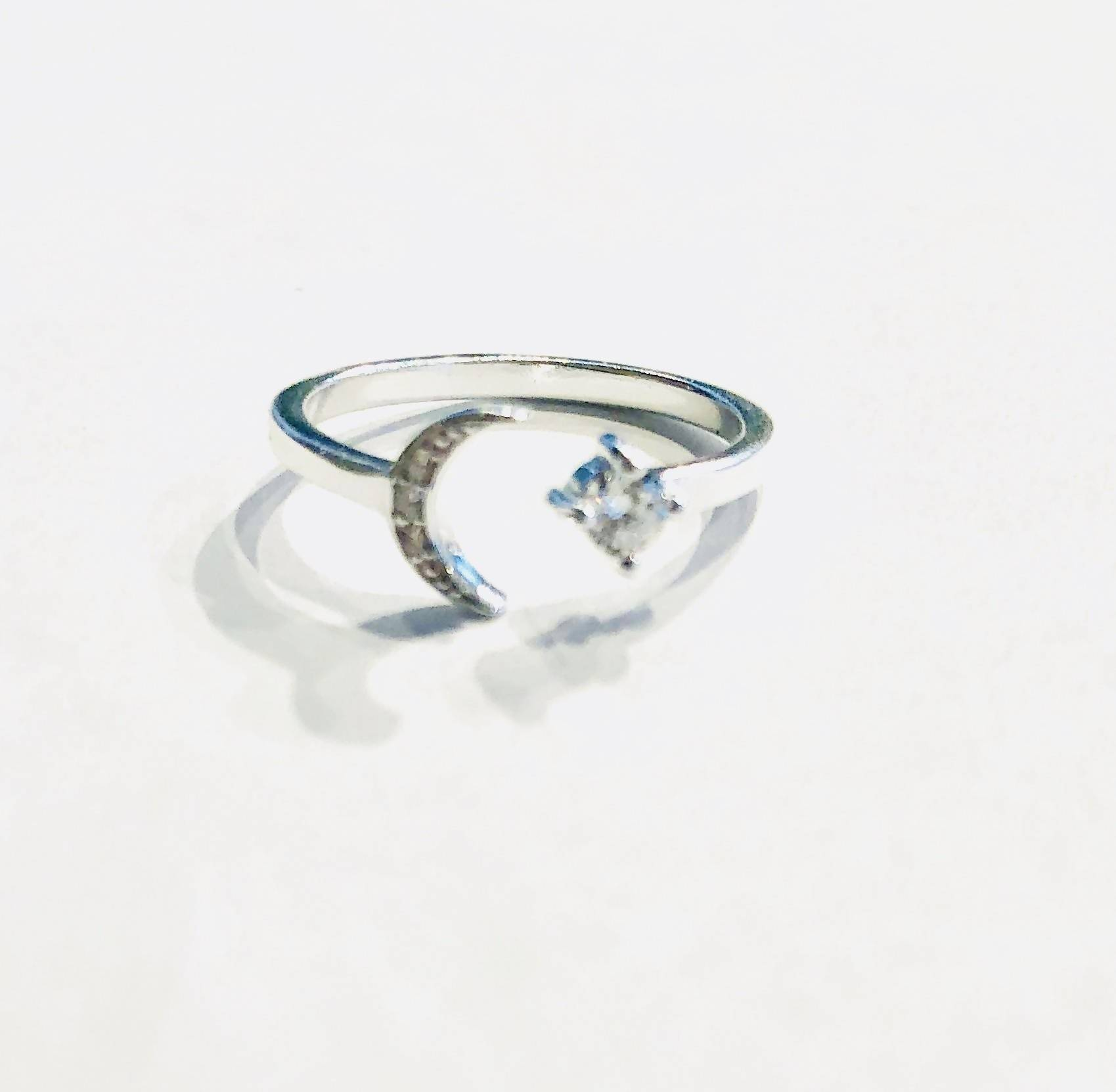 crescent and star ring