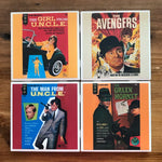 1970's TV Crime Fighter Coasters