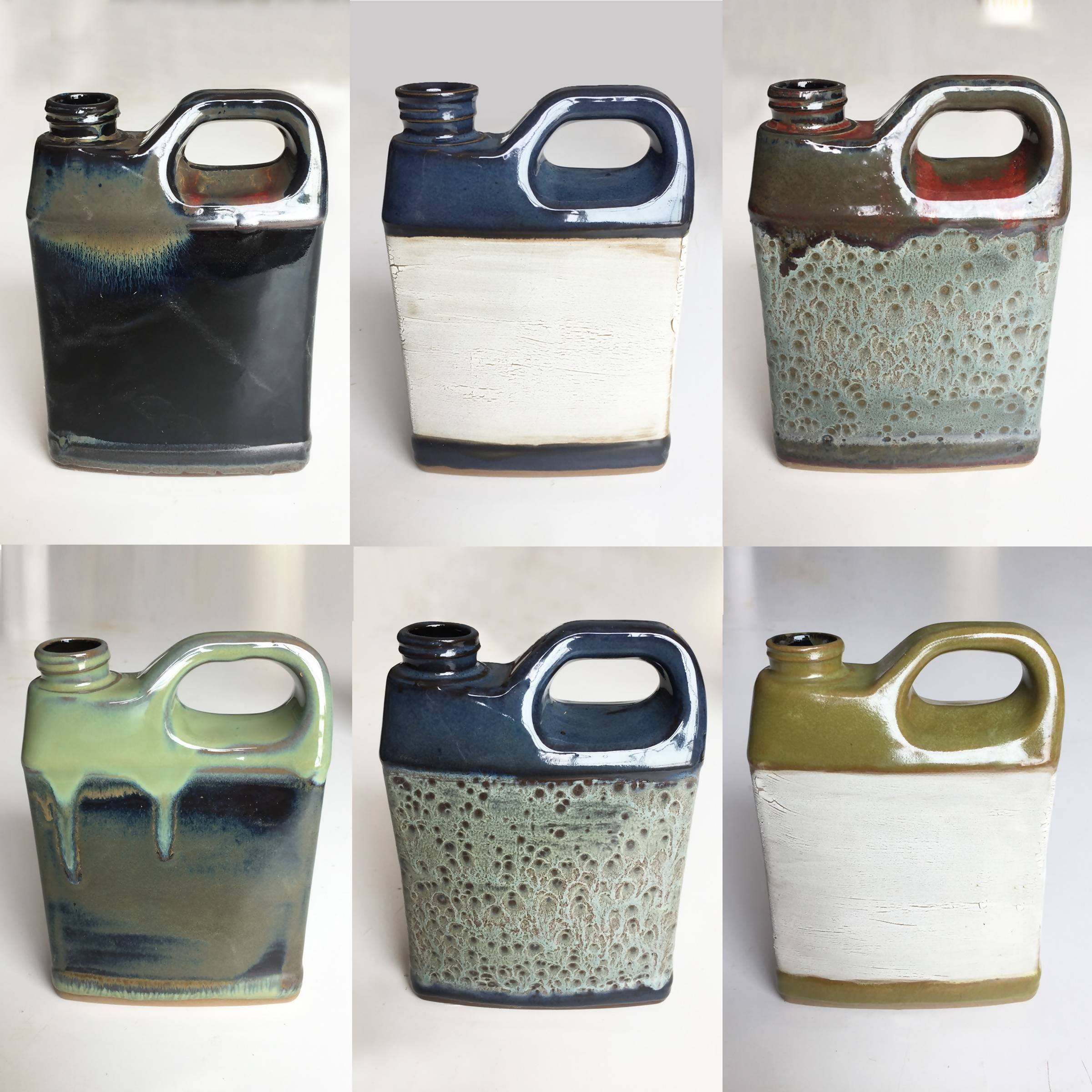 Ceramic Oil Jug