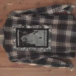 GREY/RED TPC  TRAOT FLANNEL