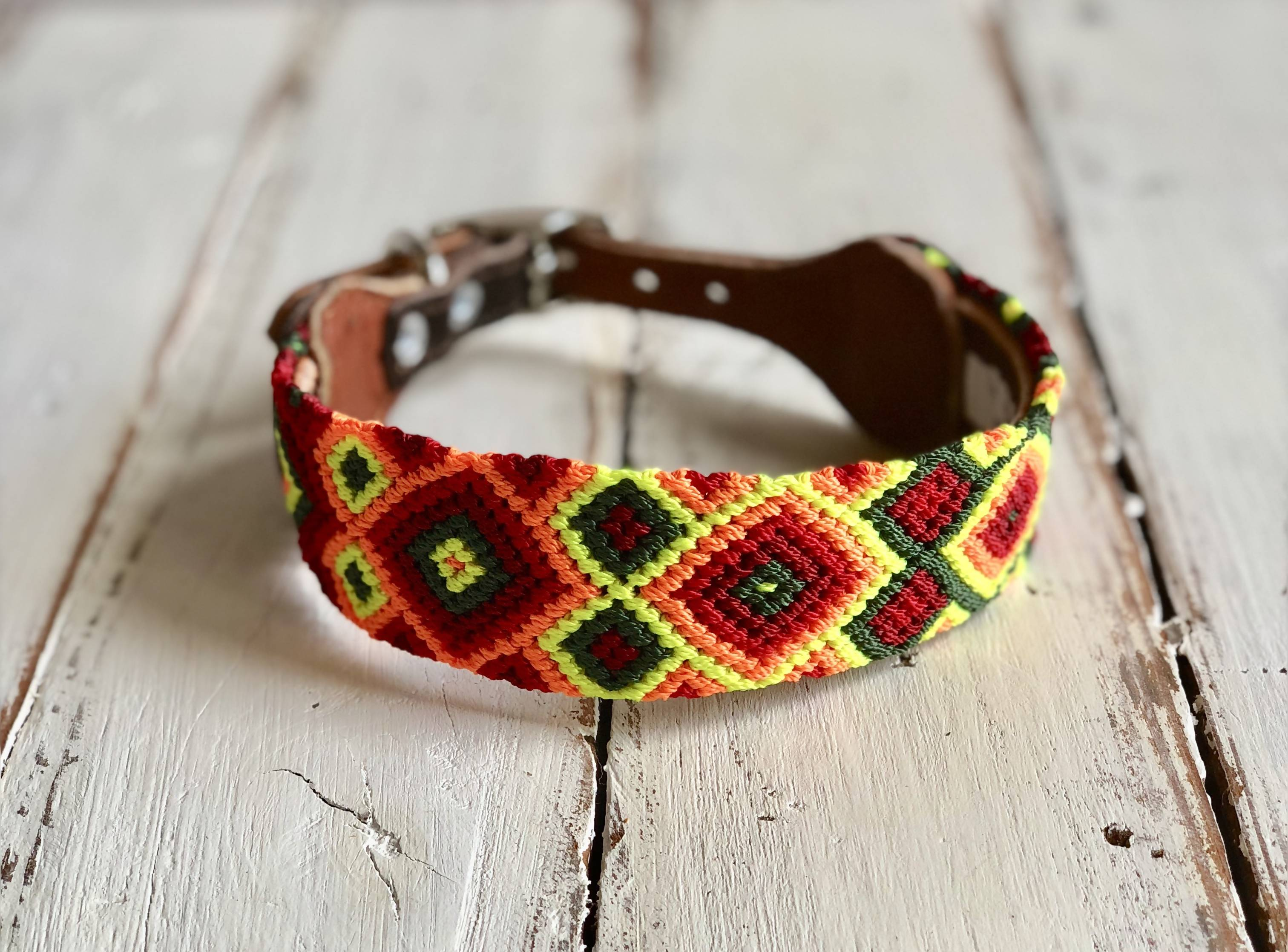 Dog collar - Small/ Med Wide