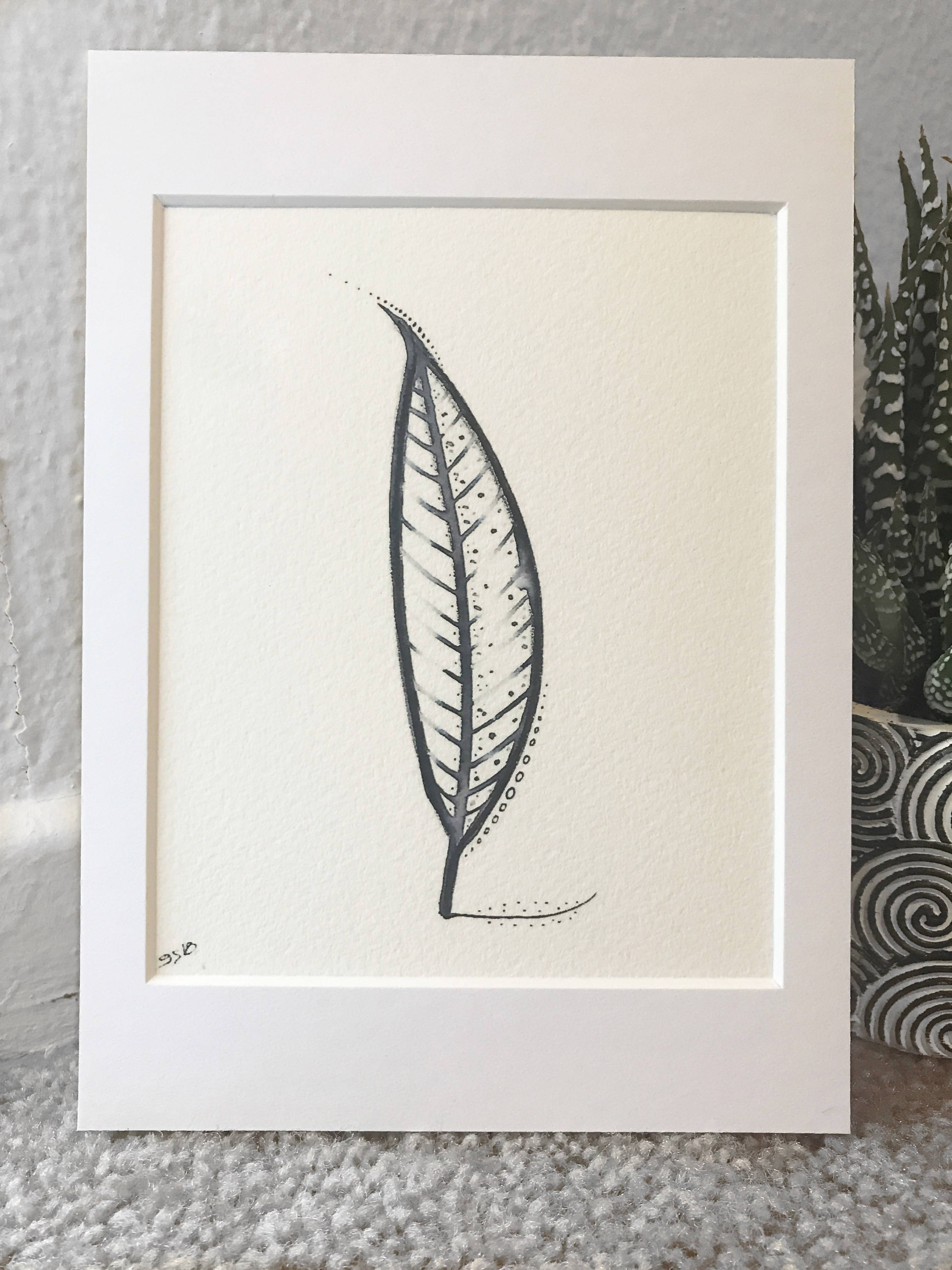 Gretshwoo Limited Edition 5x7 Art Print Plant 2