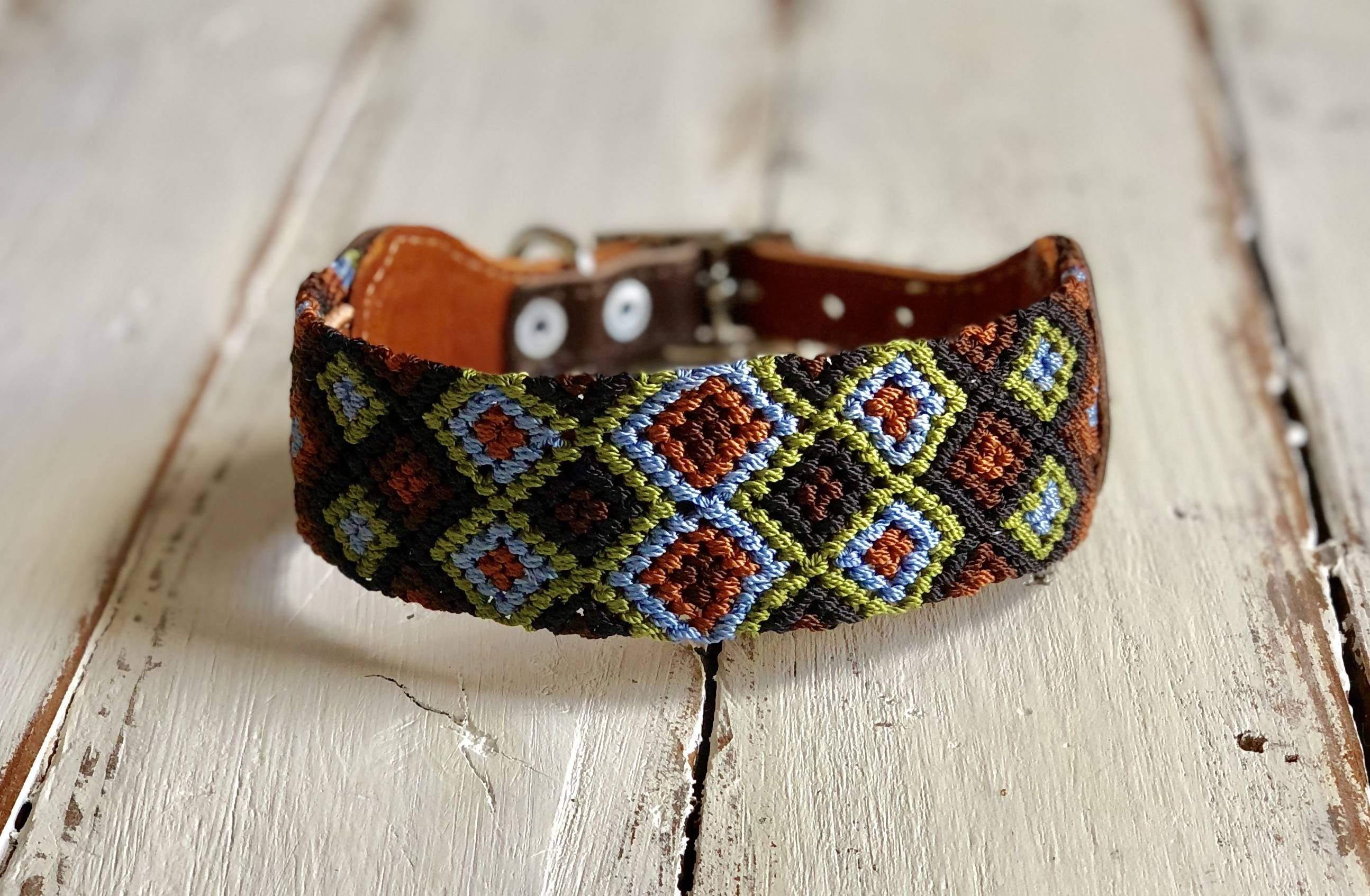 Dog collar - Small Wide