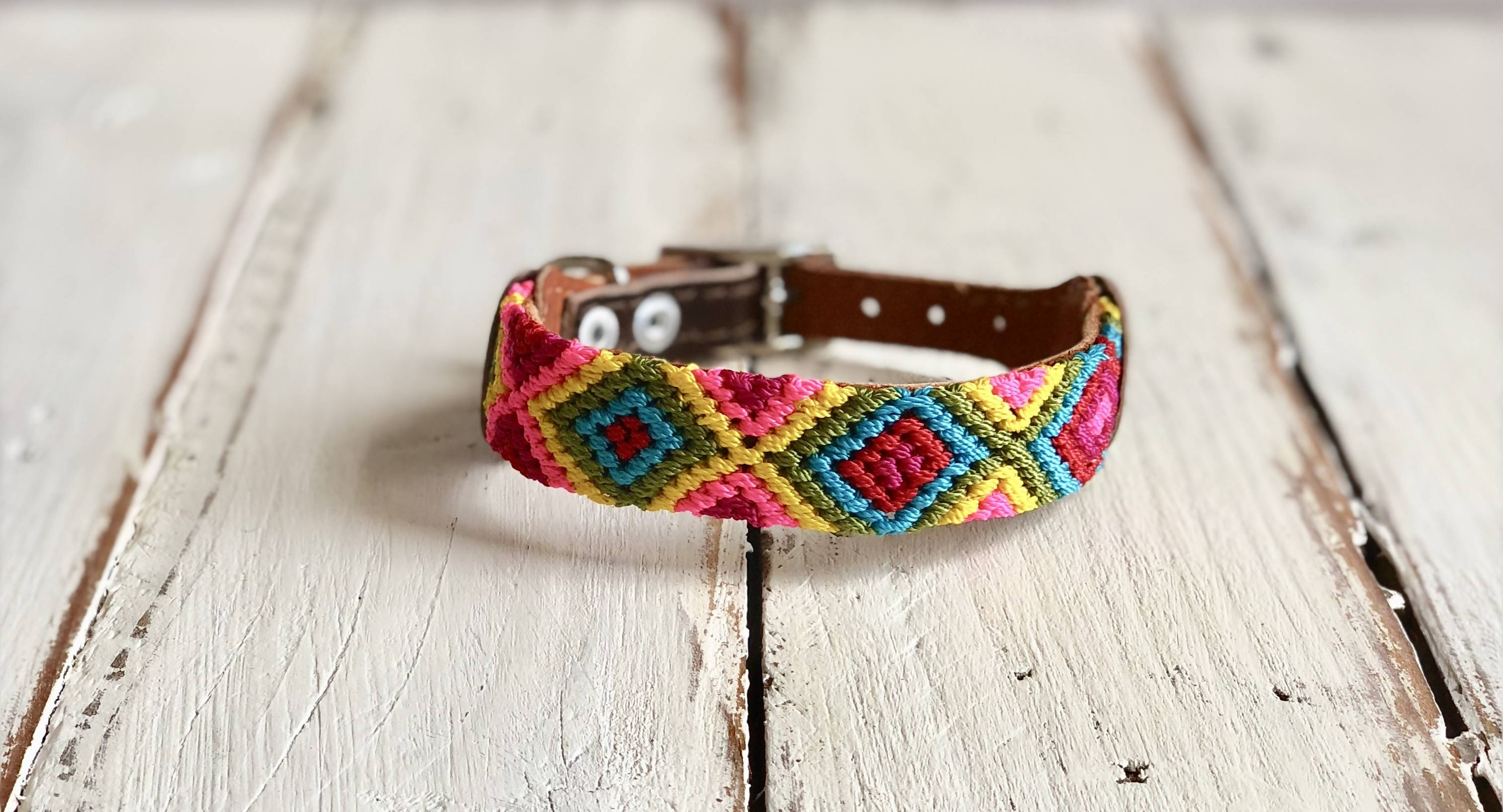 Dog collar - XS-Wide