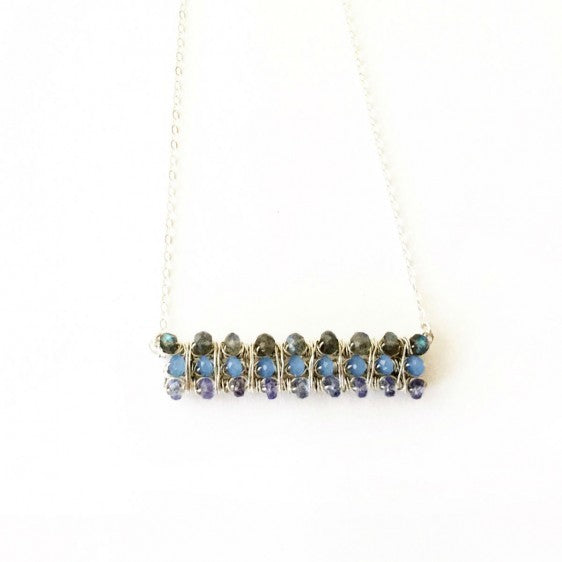 Gem Horizen Necklace