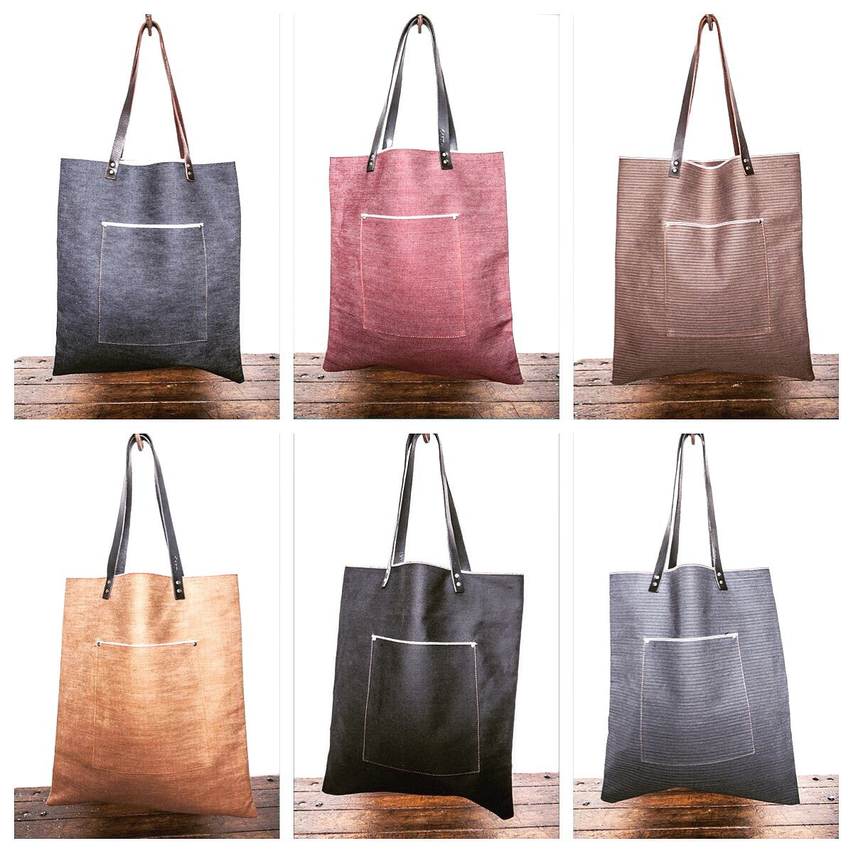 Shopping Tote Denim
