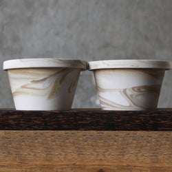 Espresso Cup Set with Tray