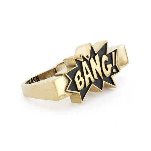 Bang Double Finger Ring