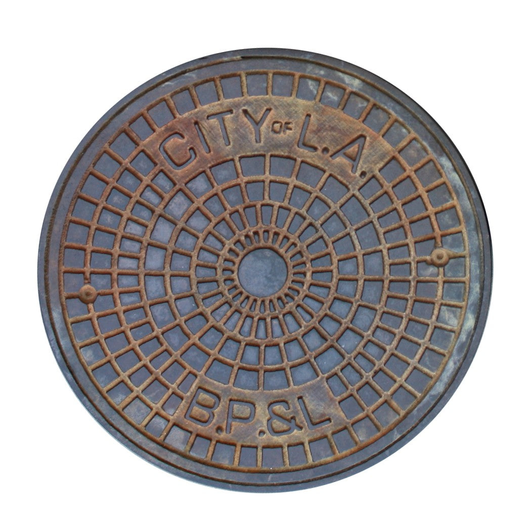 Los Angeles Manhole Cover Coasters