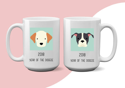 2018 Year of the doggie Mug