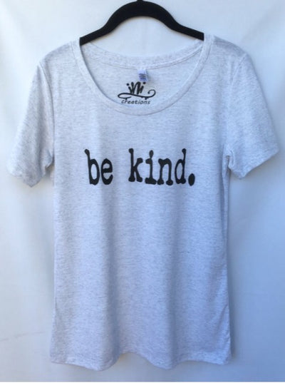Be Kind Women Ispirational Quotes T-Shirt. Be kind Tshirt Top.