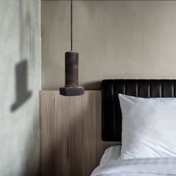 Bolt Pendant Light, Ceramic
