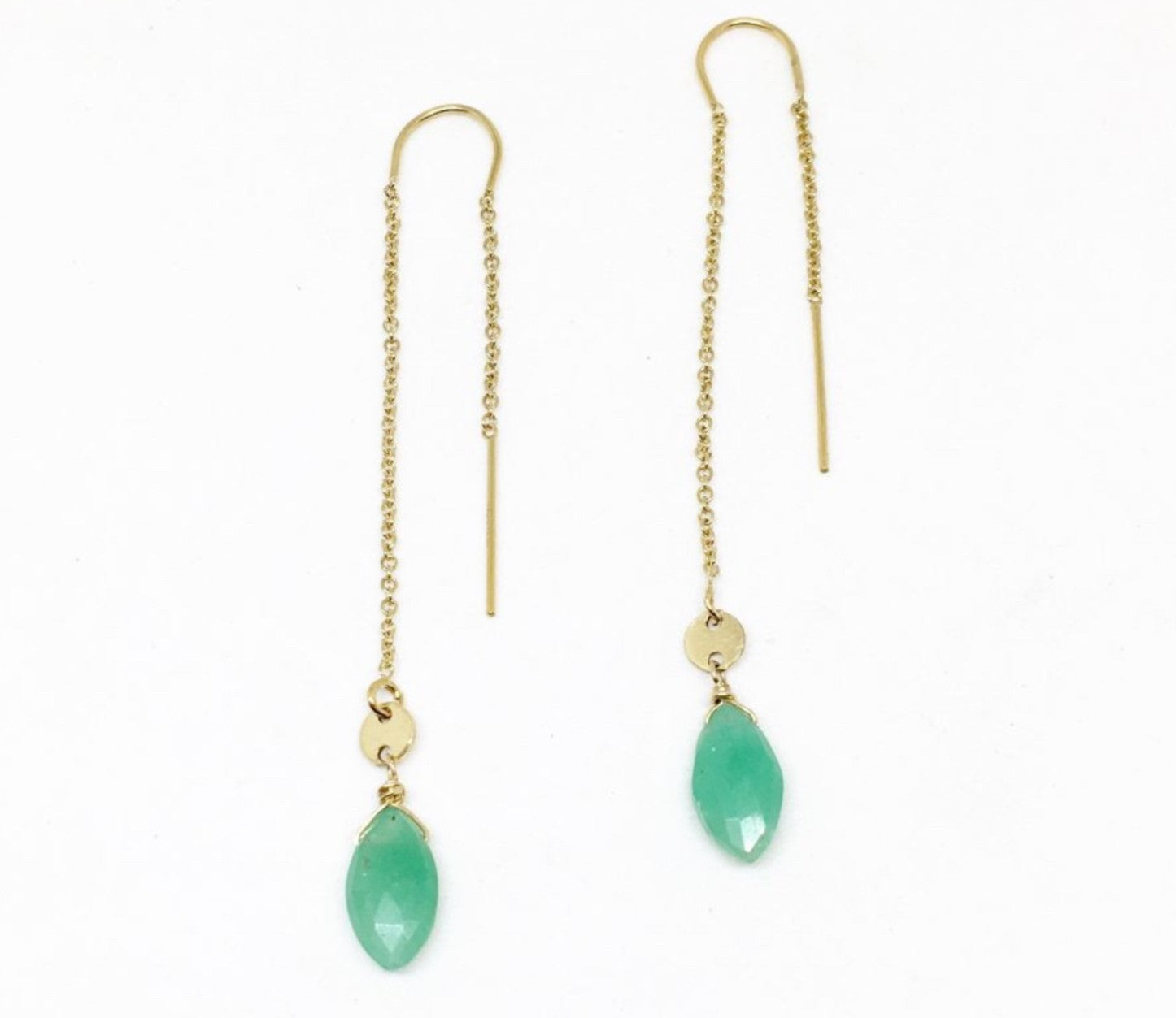 Long Raindrop Earrings
