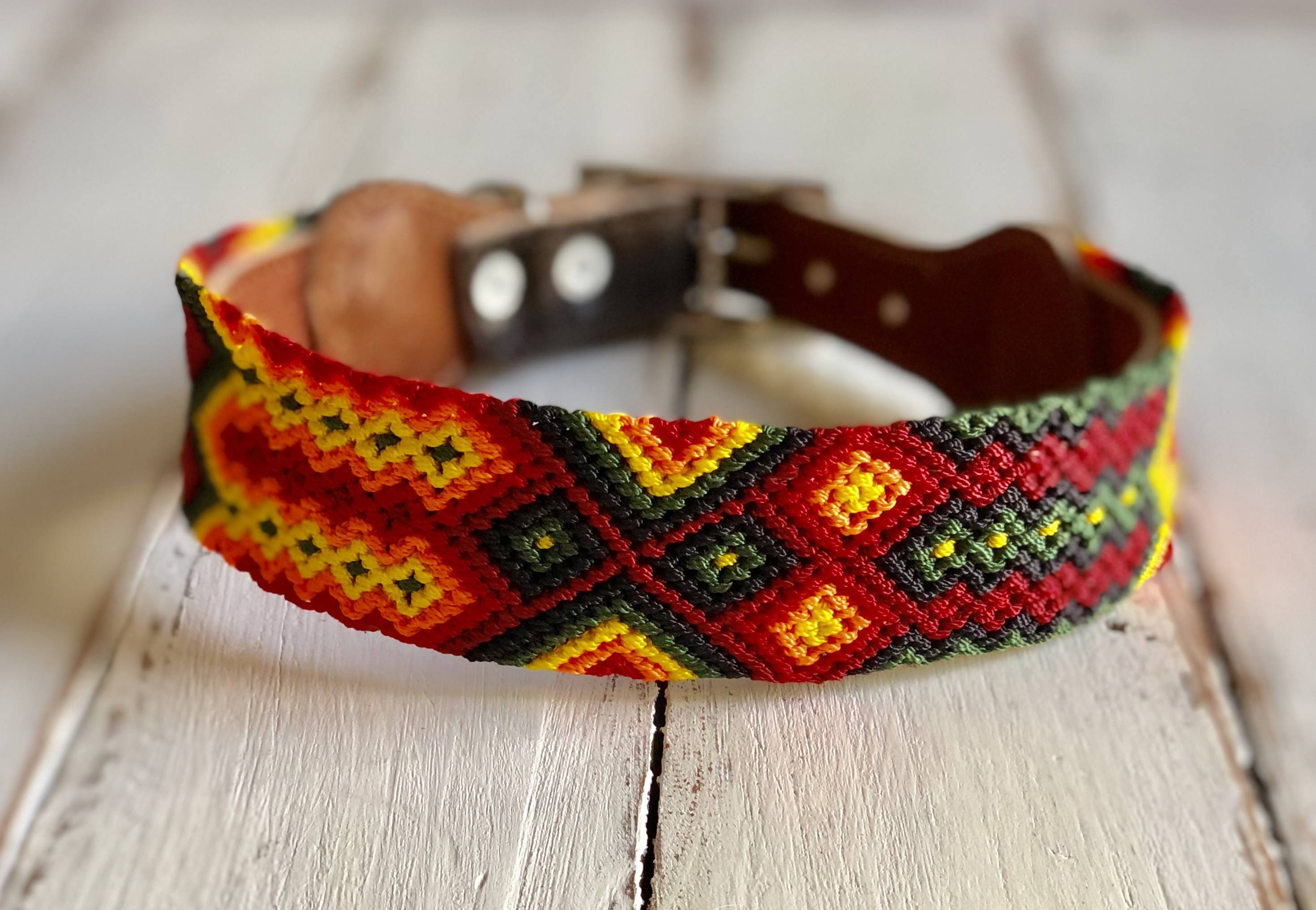 Dog collar - Large Wide