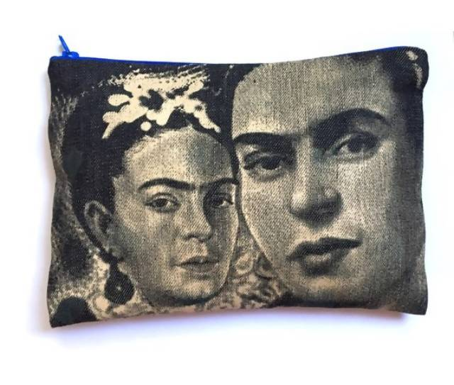 Frida Collage Cosmetic Bag