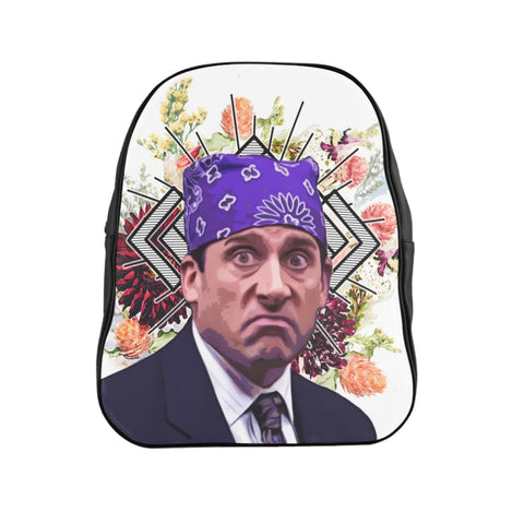 Prison Mike Backpack - Funny Michael Scott Meme Bag - The Office TV Show Gifts - Festival Rave Purse