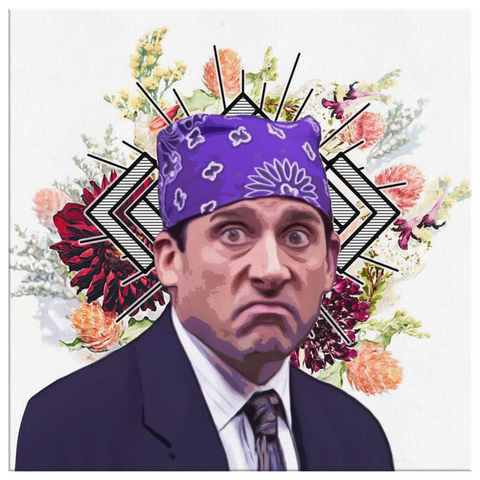 Prison Mike Canvas Print - Meme Cuisine - Meme Canvas Wall Art 2