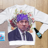 Michael Scott as Prison Mike Sweatshirt - Meme Cuisine