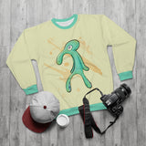 Spongebob Bold and Brash Sweatshirt - Squidward Painting Meme Sweater, Funny Pullover for Men and Women - meme cuisine