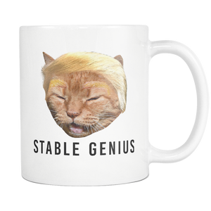 Stable Genius Mug - Cat Coffee Cup