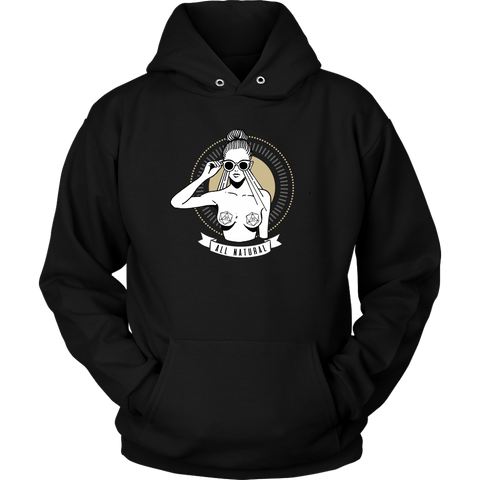 Poontang $layerz Hoodie - Cat Coffee Cup