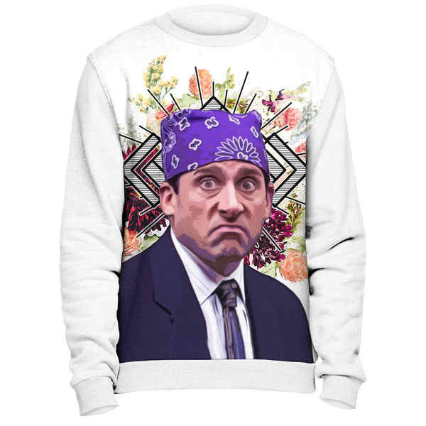 Michael Scott as Prison Mike Sweatshirt  | The Office TV Show Sweater | Funny Adult Mens Womens Meme Unisex Pullover