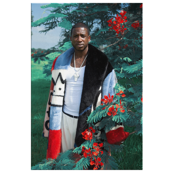 Gucci Mane Canvas Print