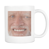 Harold Meme Coffee Mug - Funny Hide the Pain Stock Photo Meme Gift Mugs