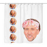 Nicolas Cage Shower Curtain - Meme Cuisine - Meme Shower Curtains