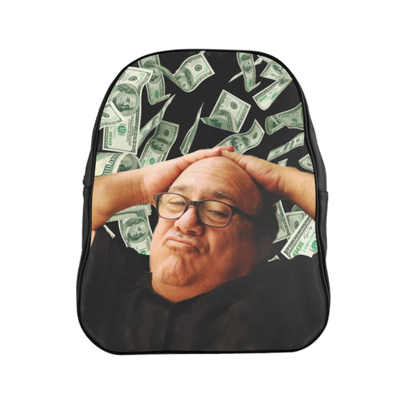 Danny Devito Money Backpack - Funny Frank Reynolds Always Sunny Meme Gifts for Her