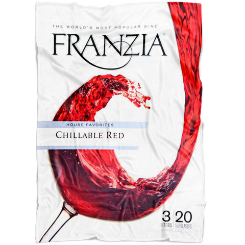 Franzia Red Wine Throw Blanket - Meme Cuisine - Meme Blankets