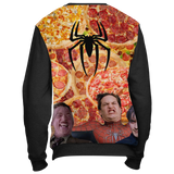 Spiderman Pizza Time Meme Sweatshirt