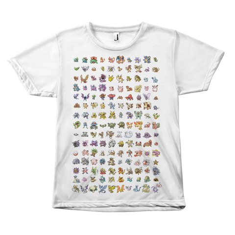 Original 151 Pokemon Shirt - Meme Cuisine - Mens Pokemon Shirts, Gamer Gifts for Him