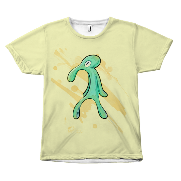 Bold and Brash T-Shirt | Funny Spongebob Unisex Shirt | Squidward Painting Meme
