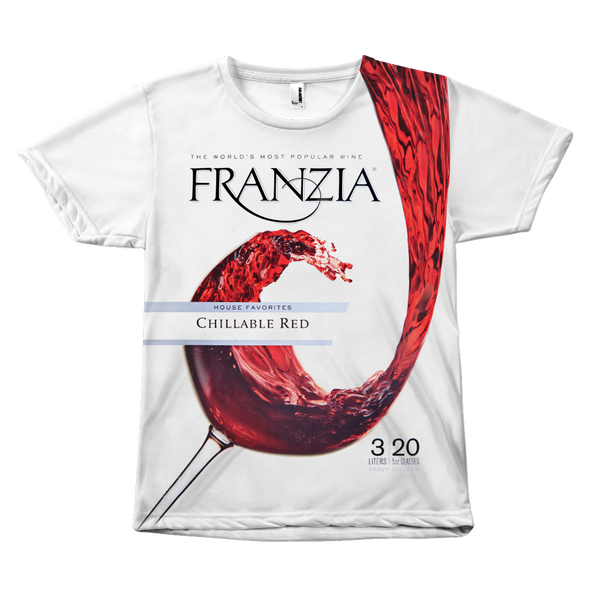Franzia Red Wine Shirt - Meme Cuisine - Meme All Over Print