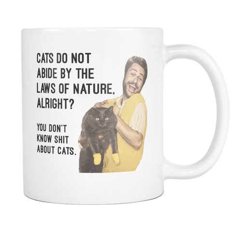 Charlie Kelly Coffee Mug - Funny Always Sunny Cat Meme Gifts