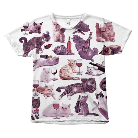 Cats with Wine T-Shirt | Funny Mens cat shirt, Cat lover gifts for him, Cat dad gift, Cat dad meme shirt, Offensive shirt, cat lover shirt