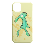Spongebob Bold and Brash iPhone 11 Pro Max Phone Case - Squidward Painting Meme - Funny iPhone Cases - Meme Cuisine