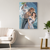 An Office Romance Canvas Print - Meme Cuisine - Meme Canvas Wall Art 2
